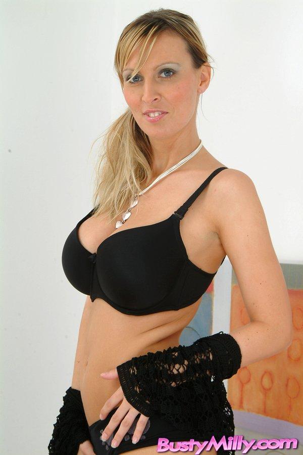 Large Natural Black Breasts