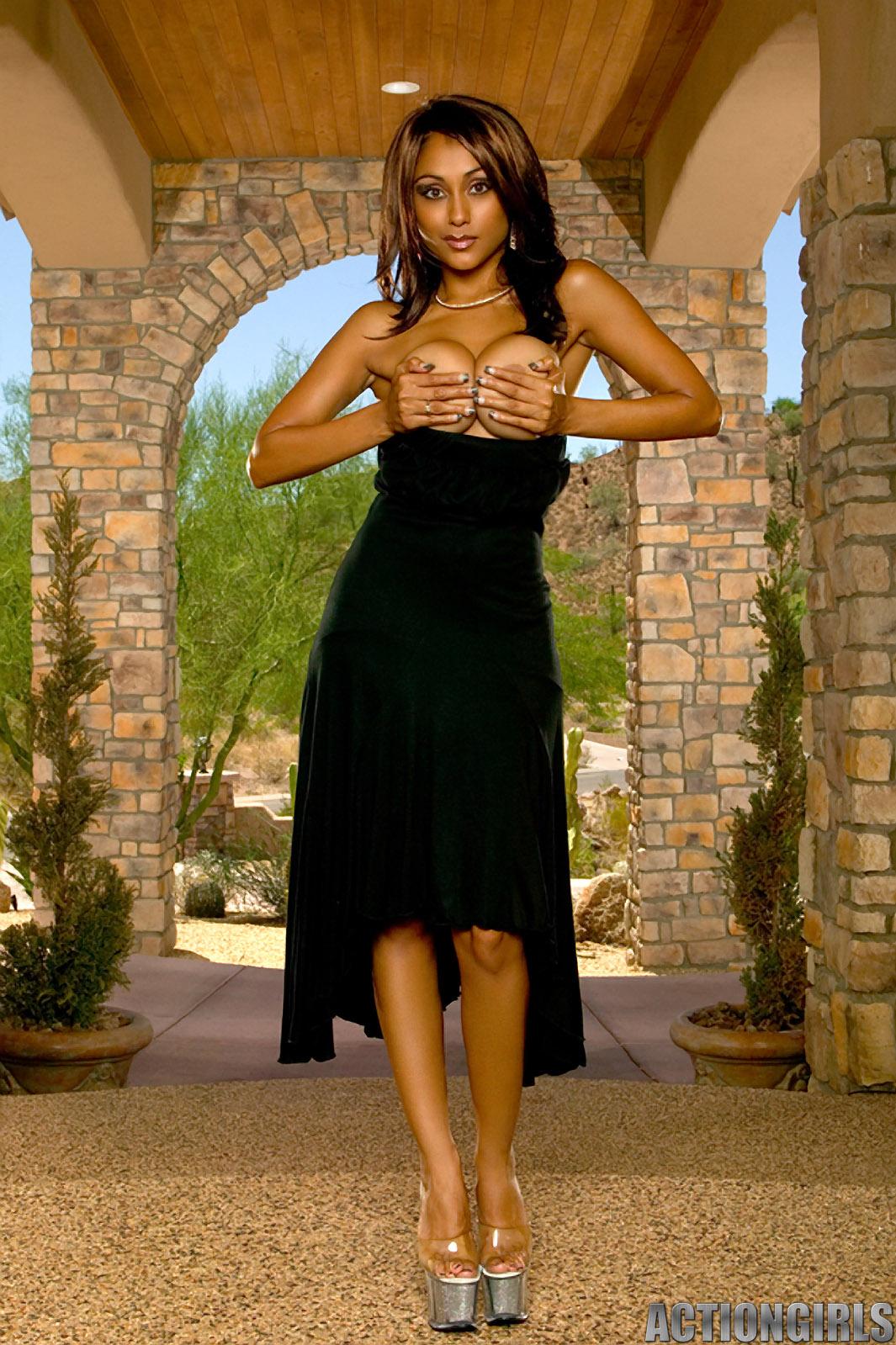 Priya Rai Black Dress