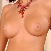 Busty Beauty Connie Topless and Ready