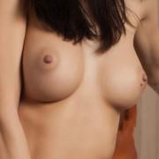 Sarah Nude in Black Heels