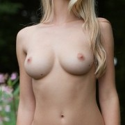 Carisha Nude on the Train Tracks