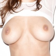 Busty Girl Daisy Wearing a White See Through Shirt