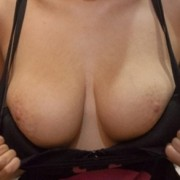 Cassidy Ellis showing her tits in the supermarket