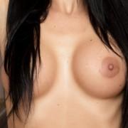 Nicole Vice Topless in the Doorway