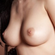 Busty Brunette Della Naked