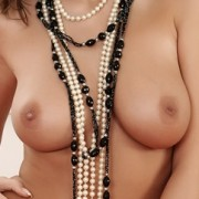 Lizzy Wearing Nothing But Beads