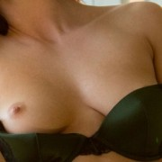 Aidra Fox in Black Bra and Panties