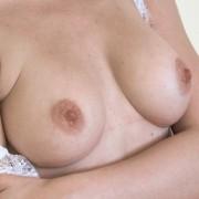 Kate Shoo in Sexy Sheer Lingerie
