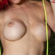 Jennifer Light - Colorful Bikini